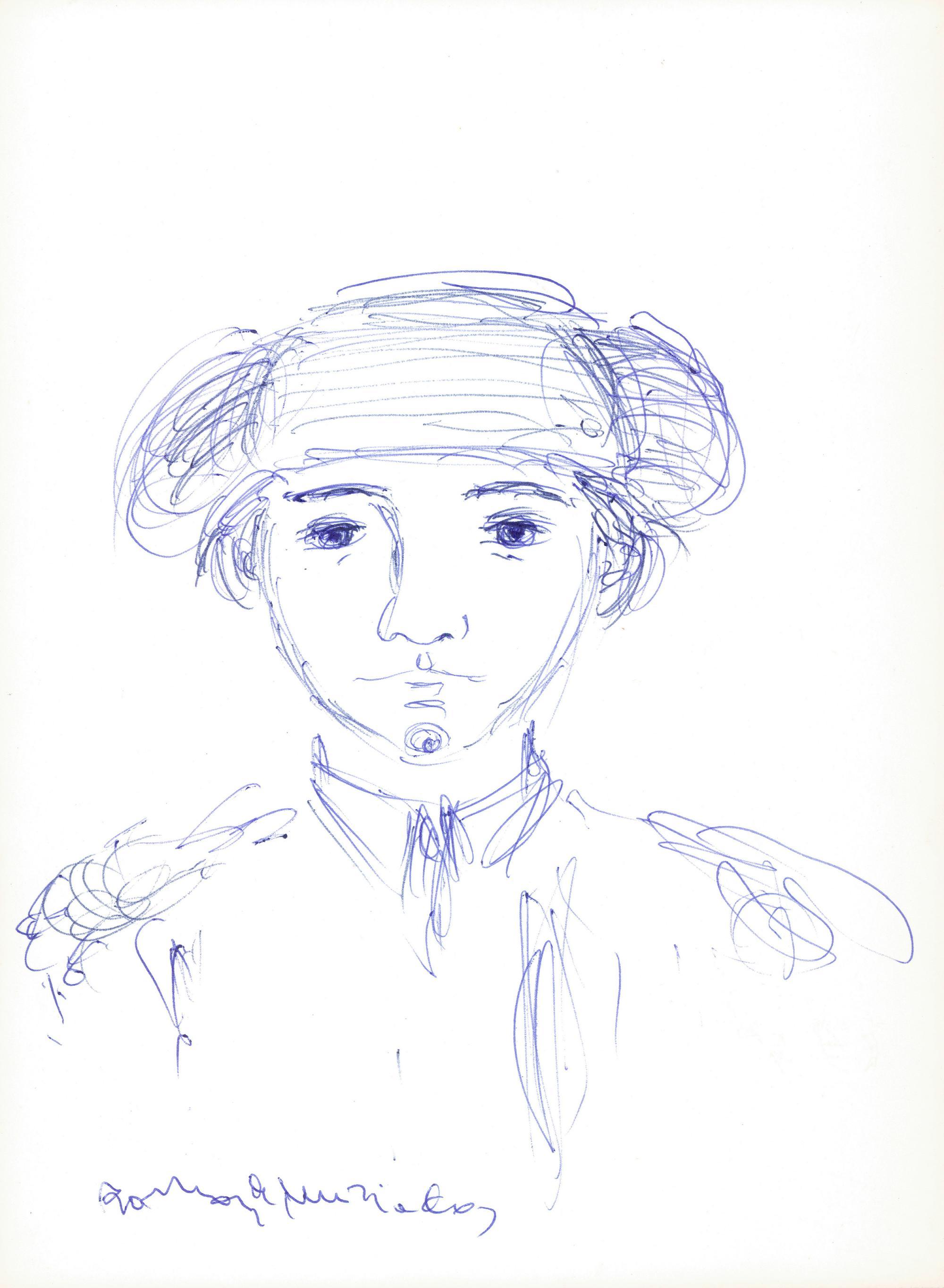 Boceto para Niños - Ramón Muriedas
